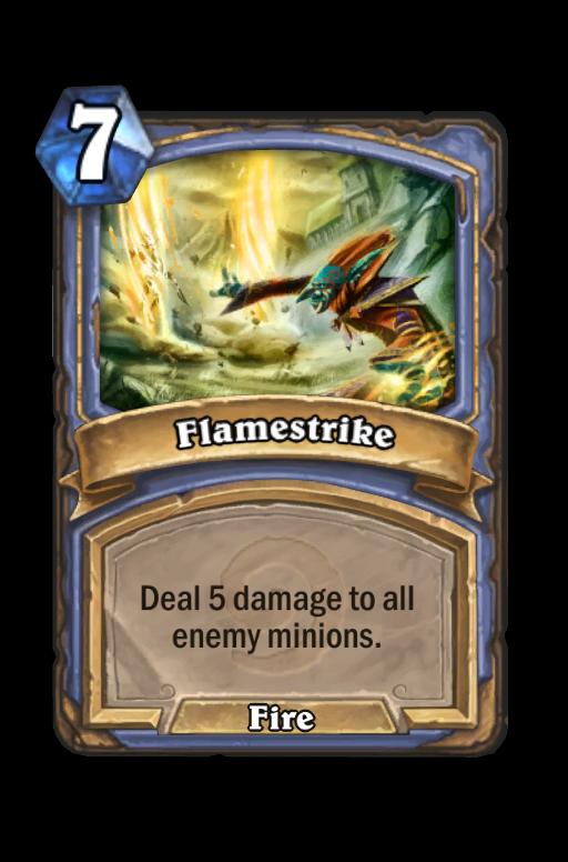 Flamestrike Hearthstone kártya