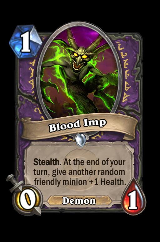 Blood Imp Hearthstone kártya