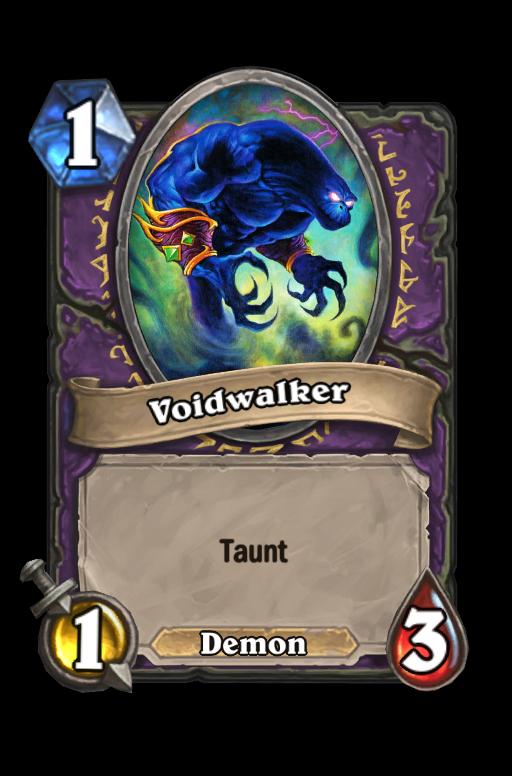 Voidwalker Hearthstone kártya