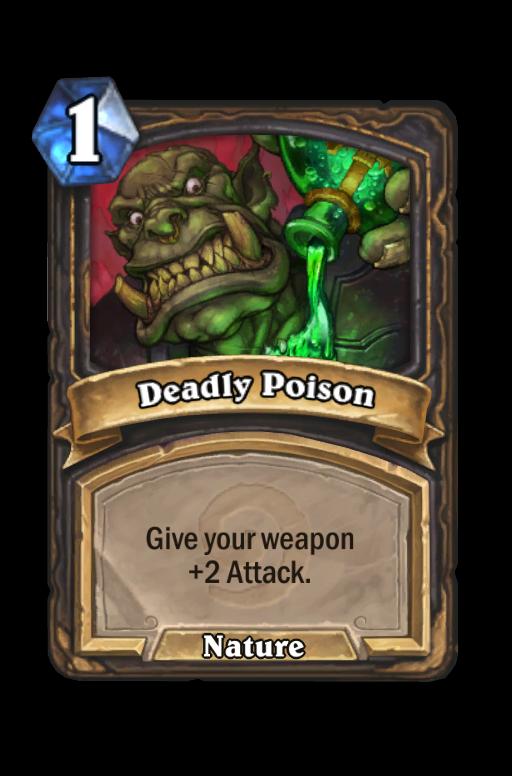Deadly Poison Hearthstone kártya
