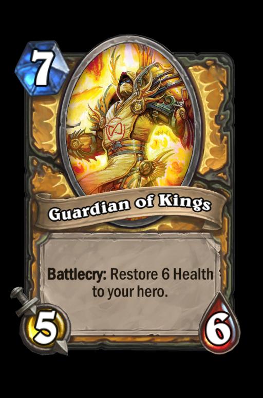 Guardian of Kings Hearthstone kártya