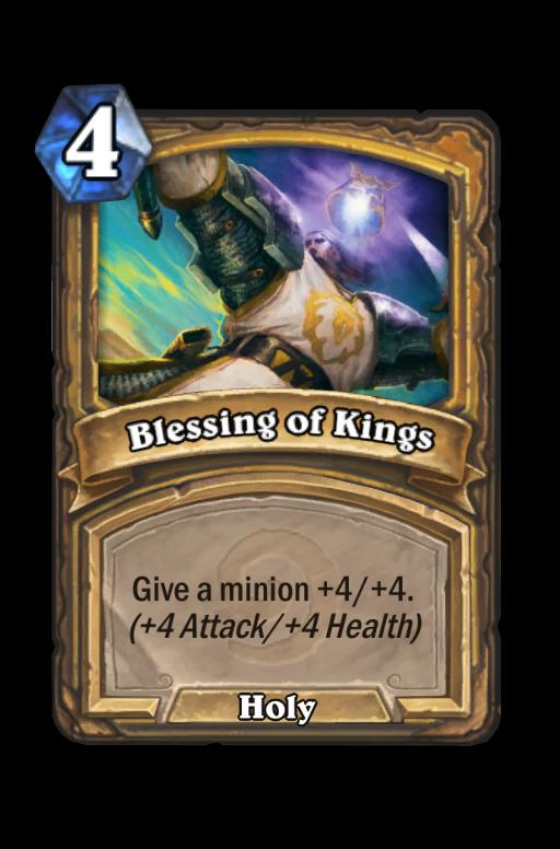 Blessing of Kings Hearthstone kártya