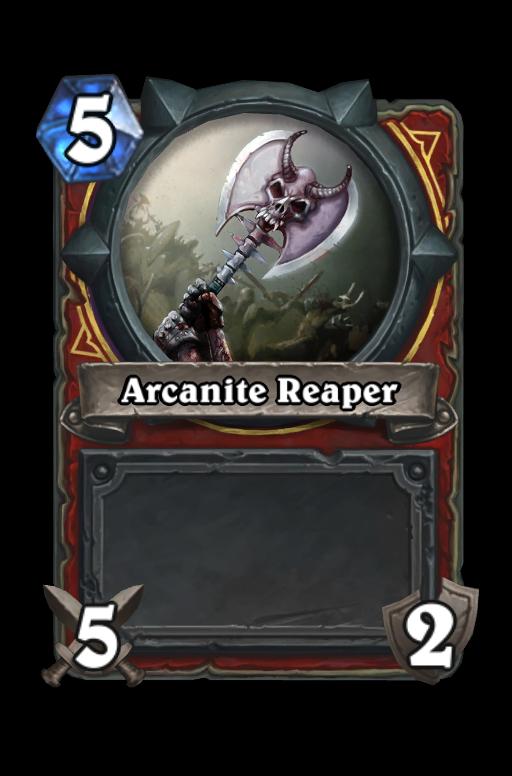 Arcanite ReaperHearthstone kártya