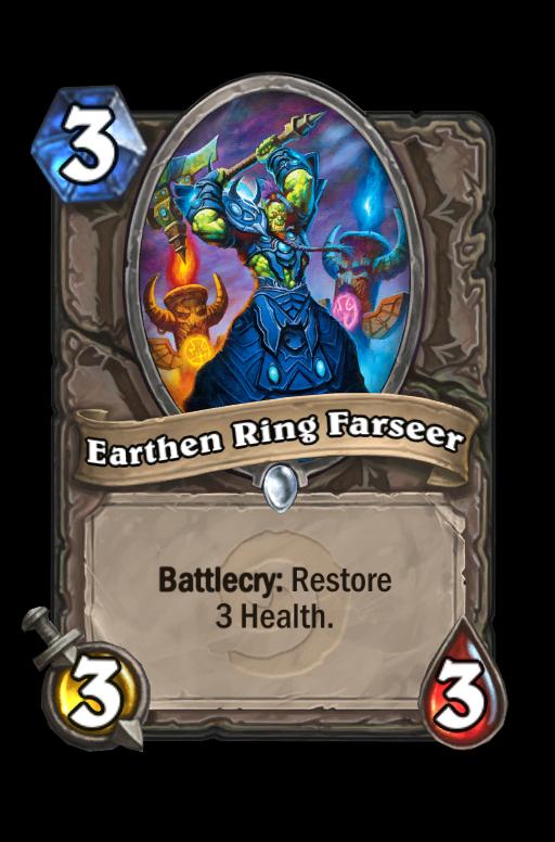 Earthen Ring Farseer Hearthstone kártya
