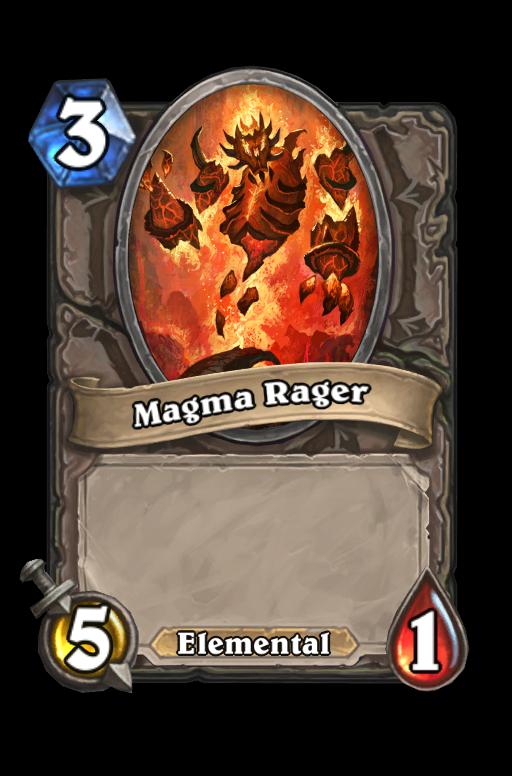 Magma Rager Hearthstone kártya