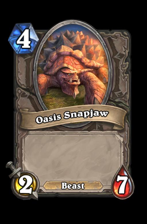Oasis Snapjaw Hearthstone kártya