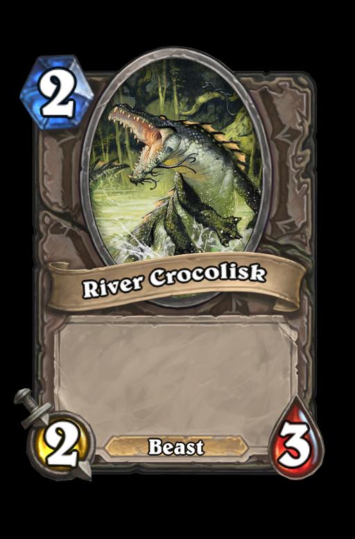 River Crocolisk Hearthstone kártya