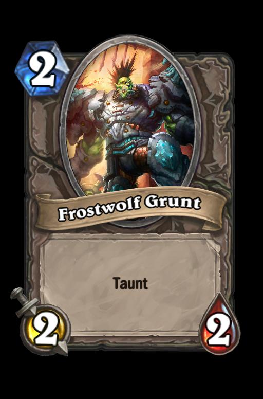 Frostwolf GruntHearthstone kártya