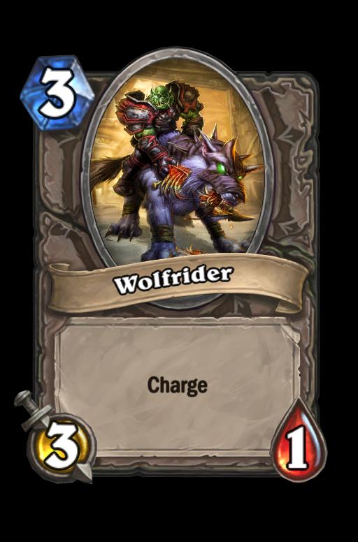 Wolfrider Hearthstone kártya