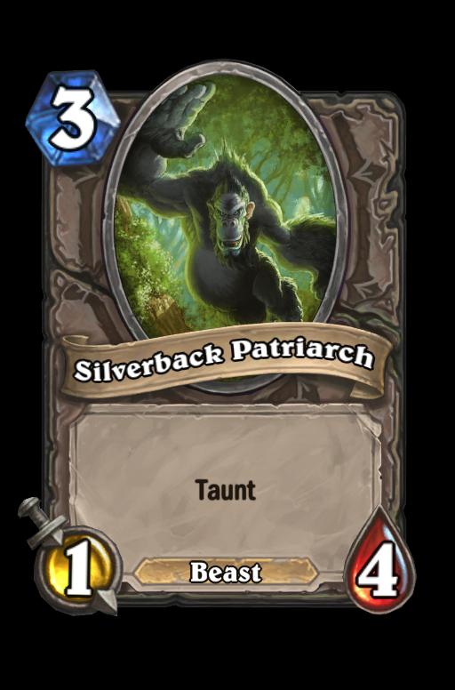 Silverback Patriarch Hearthstone kártya