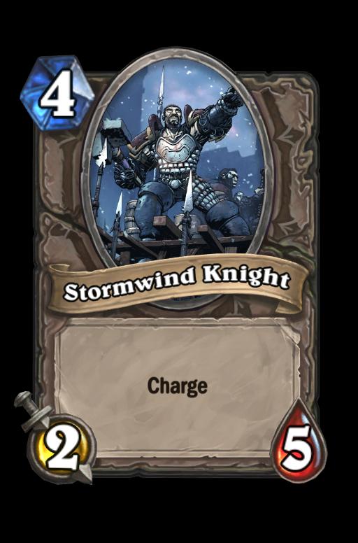 Stormwind KnightHearthstone kártya