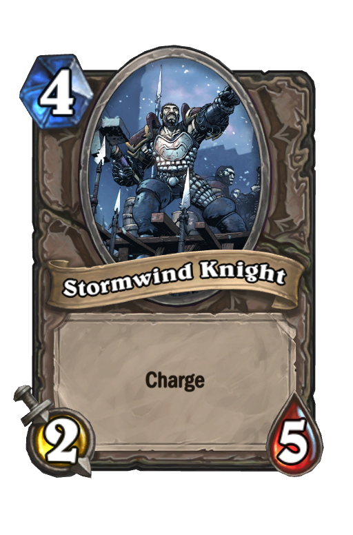 Stormwind Knight Hearthstone kártya