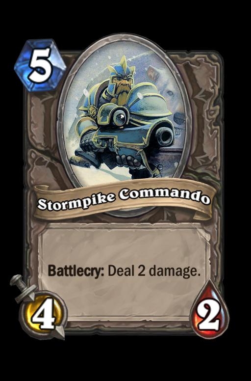 Stormpike Commando Hearthstone kártya