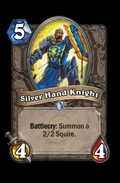 Silver Hand Knight Hearthstone kártya