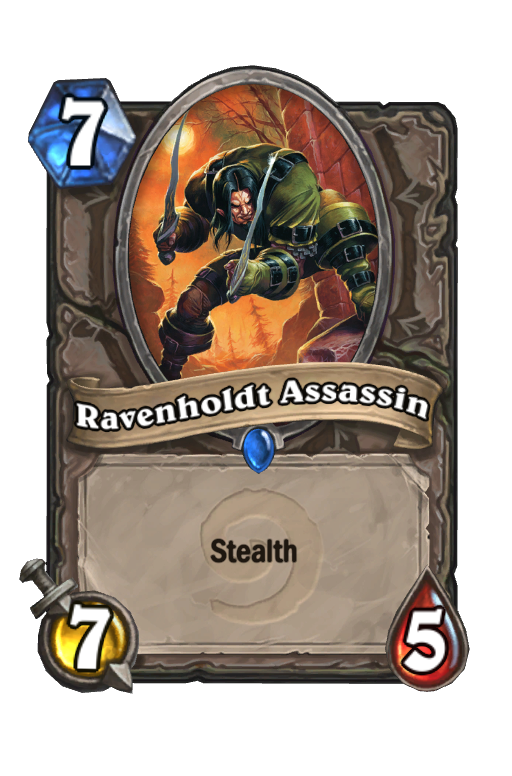 Ravenholdt AssassinHearthstone kártya