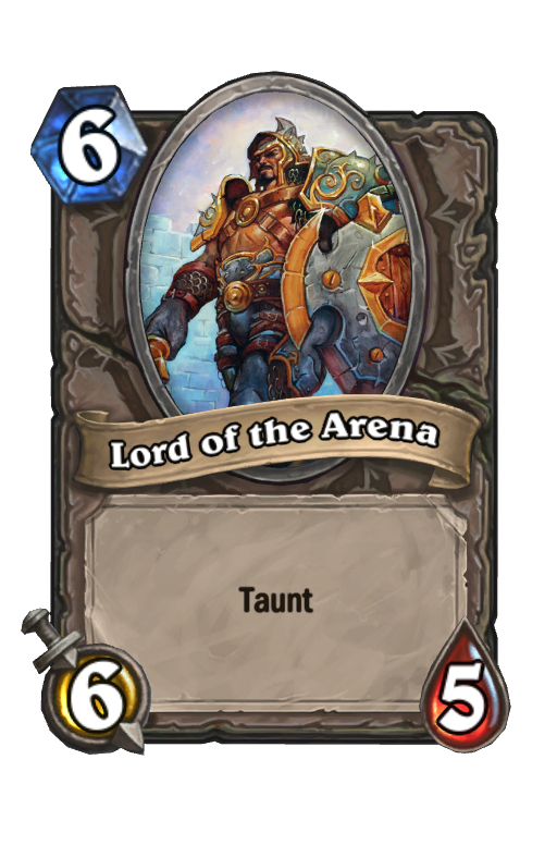 Lord of the Arena Hearthstone kártya