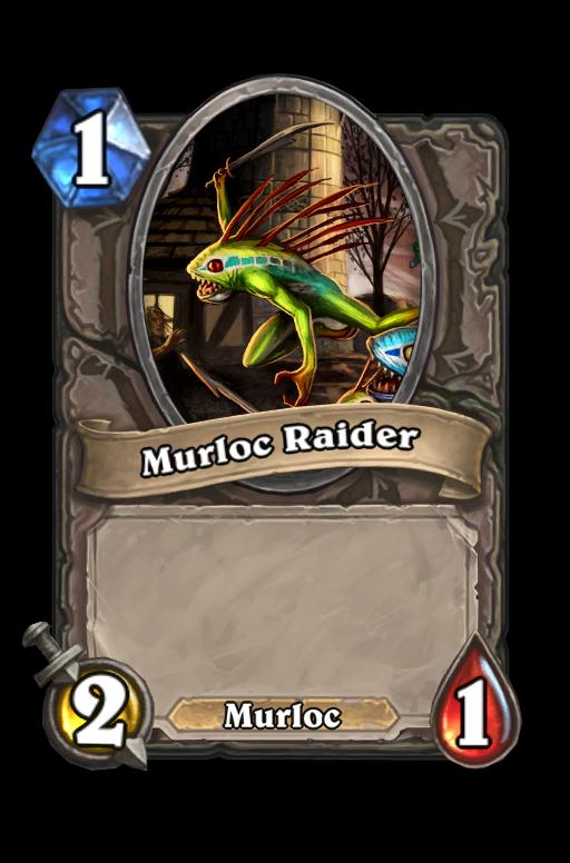 Murloc Raider Hearthstone kártya