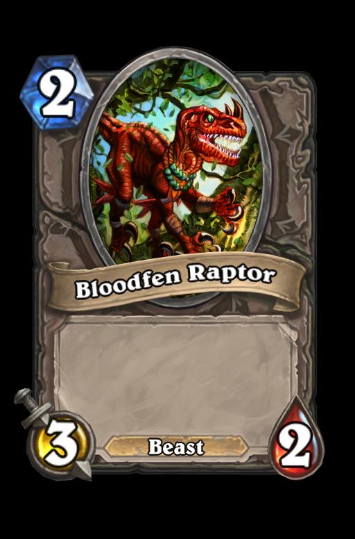 Bloodfen Raptor Hearthstone kártya