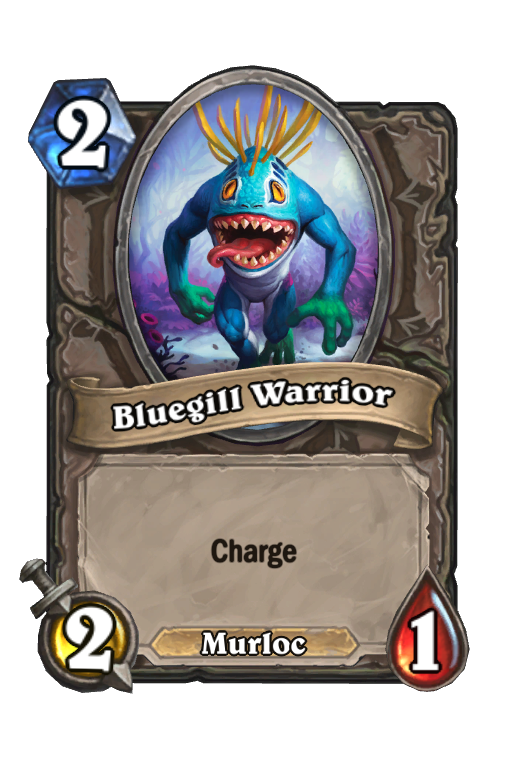 Bluegill Warrior Hearthstone kártya