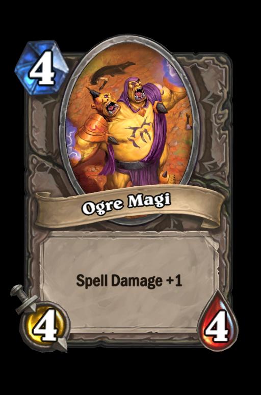 Ogre Magi Hearthstone kártya