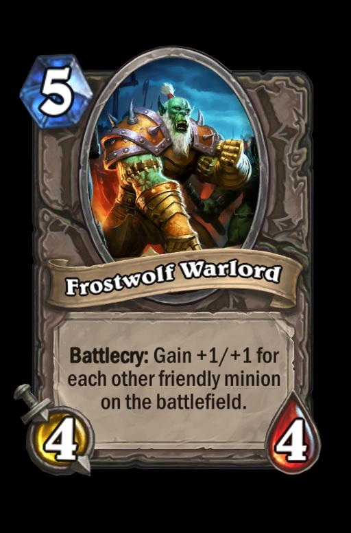 Frostwolf Warlord Hearthstone kártya