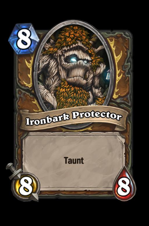 Ironbark Protector Hearthstone kártya