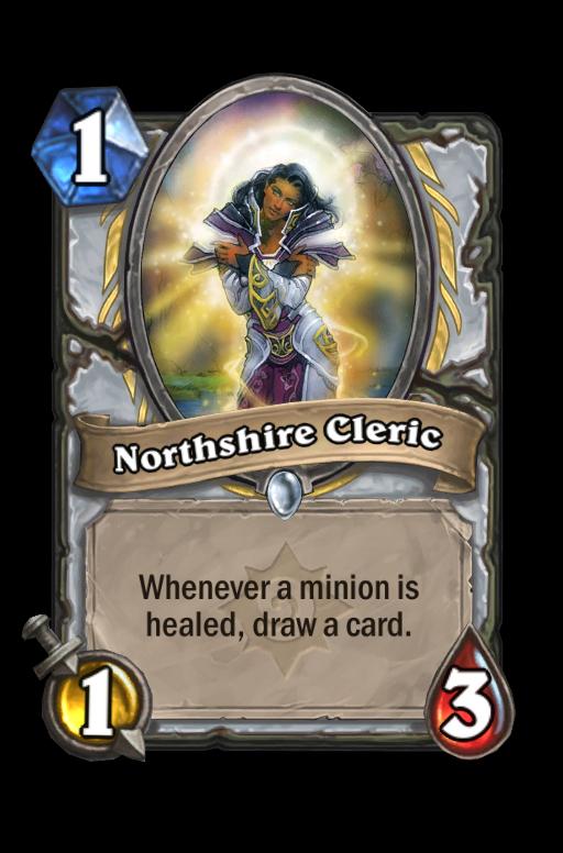 Northshire Cleric Hearthstone kártya