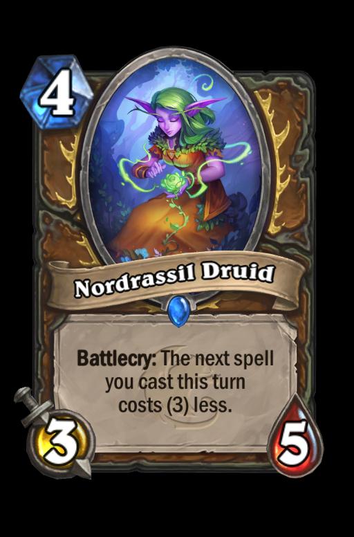 Nordrassil Druid Hearthstone kártya