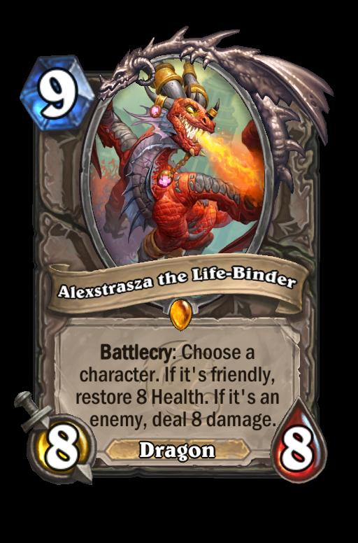 Alexstrasza the Life-Binder Hearthstone kártya