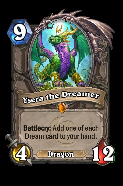 Ysera the Dreamer Hearthstone kártya