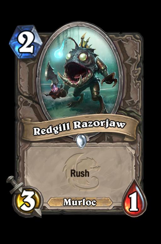 Redgill Razorjaw Hearthstone kártya