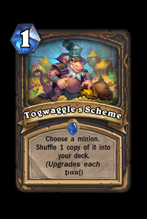 Togwaggle's Scheme Hearthstone kártya
