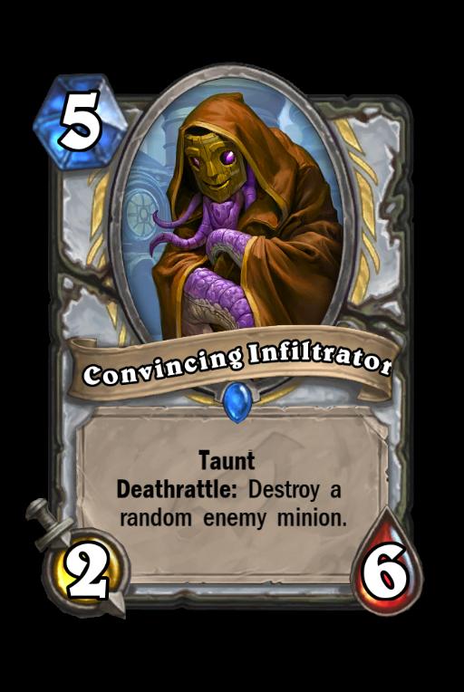 Convincing Infiltrator Hearthstone kártya