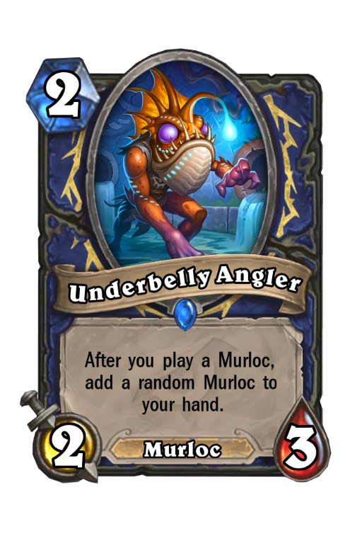 Underbelly Angler Hearthstone kártya