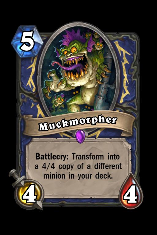 Muckmorpher Hearthstone kártya