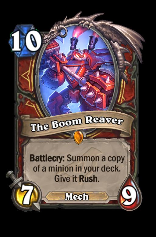 The Boom Reaver Hearthstone kártya