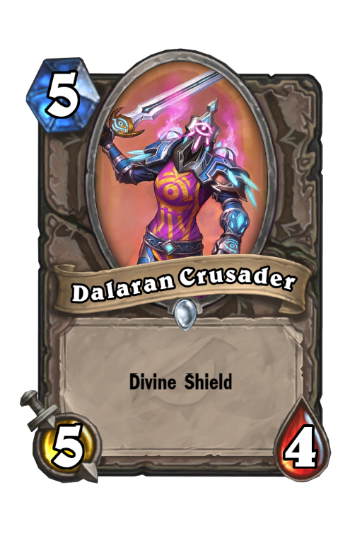 Dalaran Crusader Hearthstone kártya