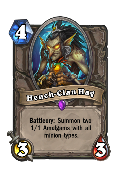 Hench-Clan Hag Hearthstone kártya
