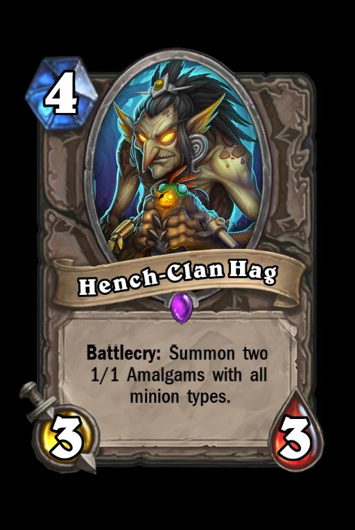 Hench-Clan Hag Hearthstone kártya