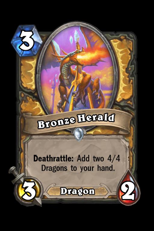Bronze Herald Hearthstone kártya