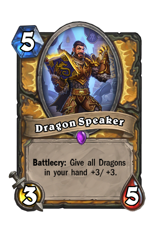 Dragon Speaker Hearthstone kártya