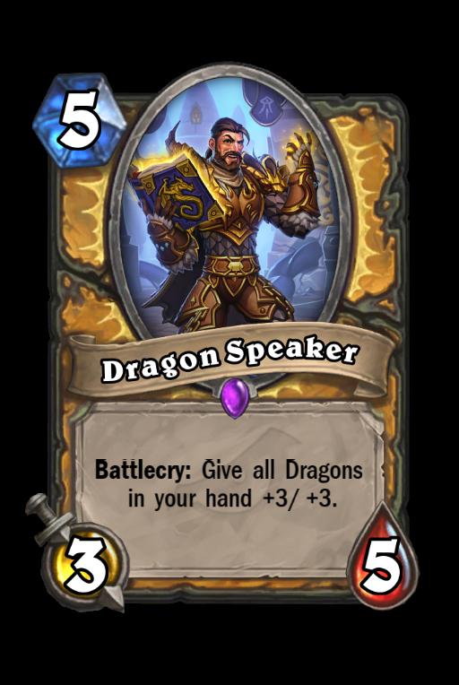 Dragon Speaker Hearthstone kártya