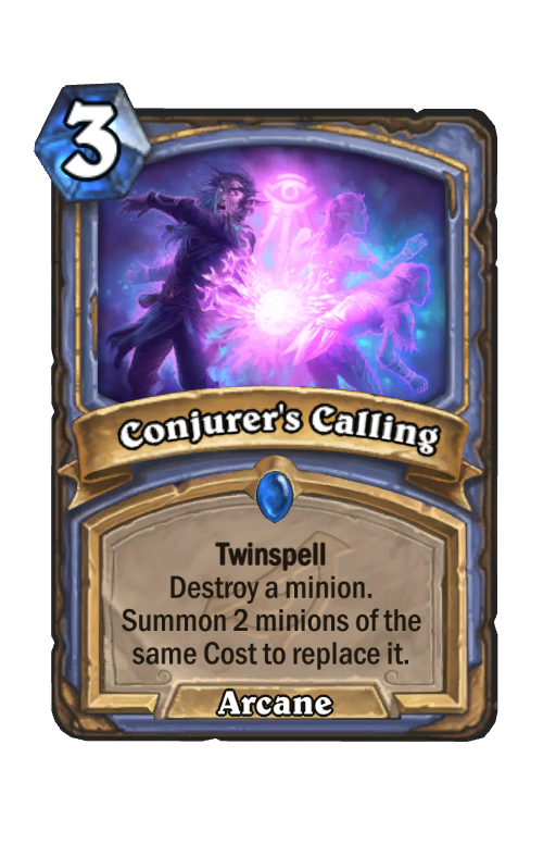 Conjurer's Calling Hearthstone kártya