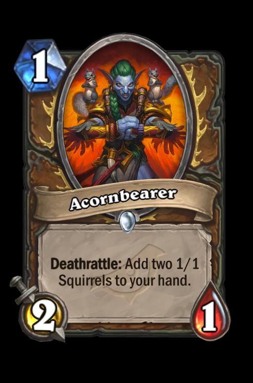 Acornbearer Hearthstone kártya