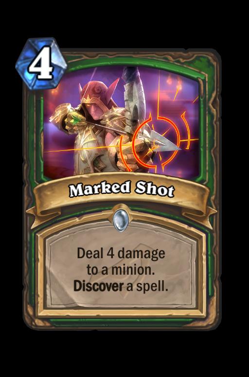 Marked Shot Hearthstone kártya