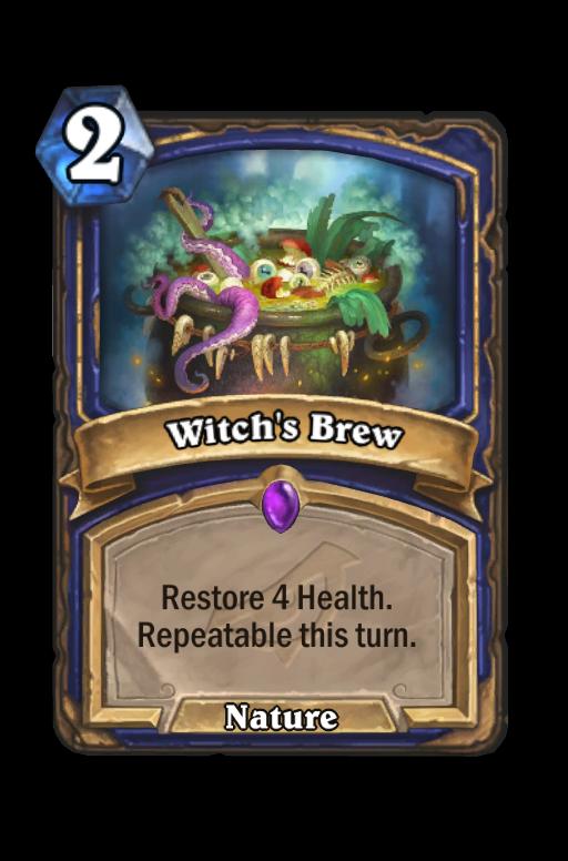 Witch's Brew Hearthstone kártya