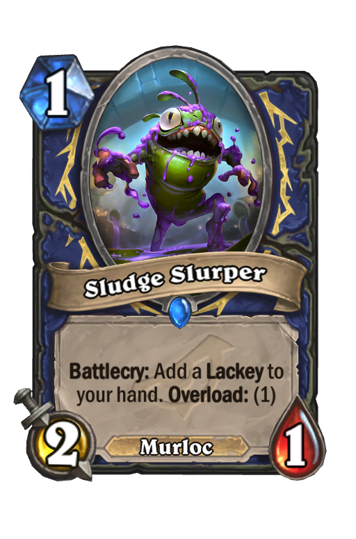 Sludge Slurper Hearthstone kártya