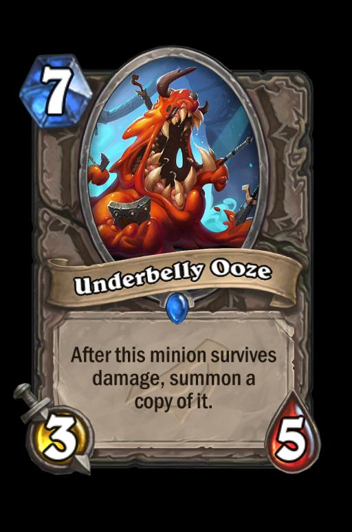 Underbelly Ooze Hearthstone kártya