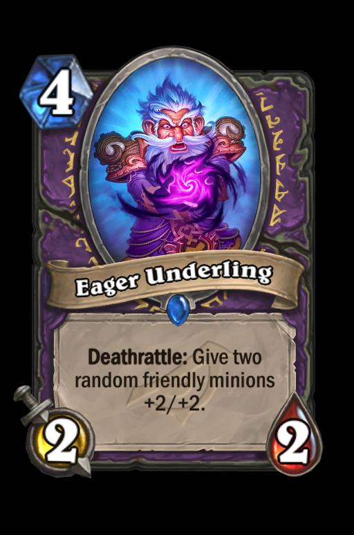 Eager Underling Hearthstone kártya