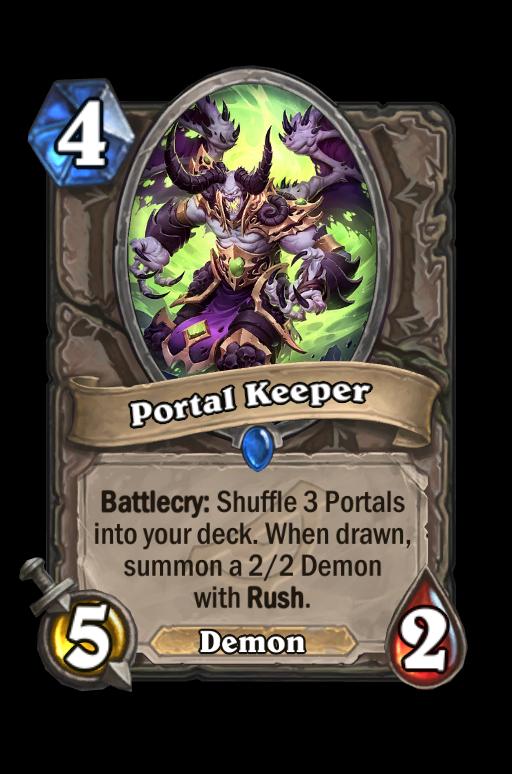 Portal Keeper Hearthstone kártya